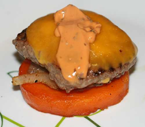 Hamburger à la citrouille - amafacon