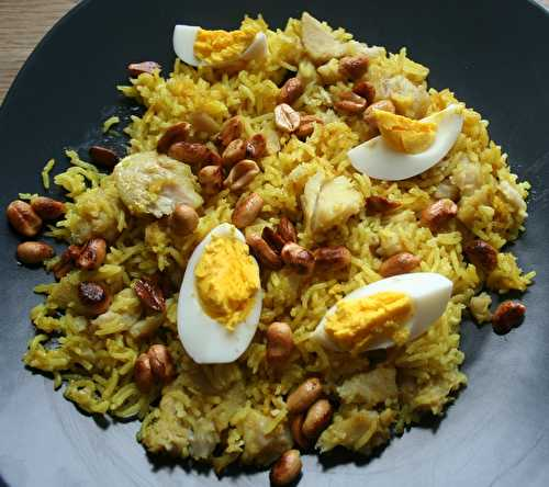 Pulao au poisson - amafacon