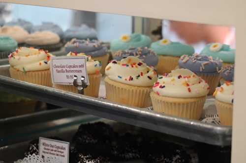 Cupcakes et Cheesecakes de Magnolia Bakery à New-York