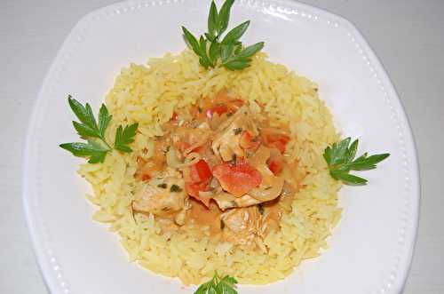 Curry poulet - cccuisine