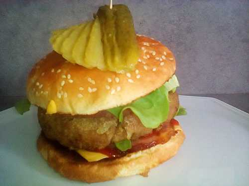 Hamburger forestier  - cccuisine