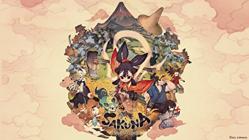 Sakuna: Of Rice and Ruin! - Comme au Japon