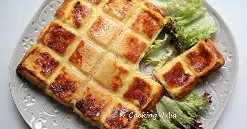 CROQUE-TABLETTE JAMBON FROMAGE