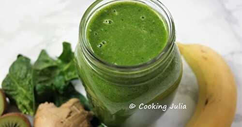 GREEN SMOOTHIE UN PEU PIQUANT !