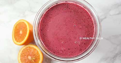 SMOOTHIE COCO-FRUITS ROUGES