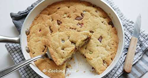ONE PAN COOKIE AUX SMARTIES