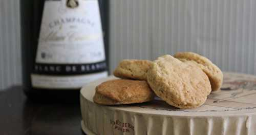 Biscuits au champagne