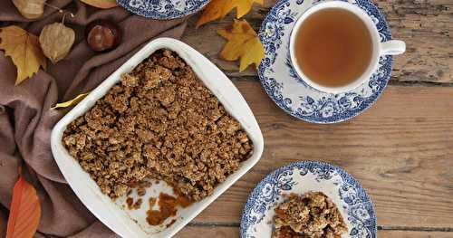 "Crumble ""pumpkin pie"""