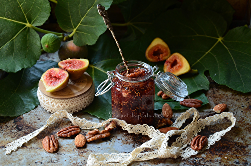 Confiture de figues aux fruits secs