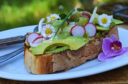 Easter Avocado Toast