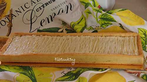 Tarte citron Gianduja - FabiCooking