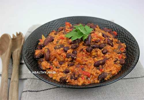 Healthy Julia: CHILI SIN CARNE #VEGAN
