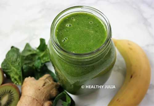 Healthy Julia: GREEN SMOOTHIE BOOSTEUR D'IMMUNITÉ