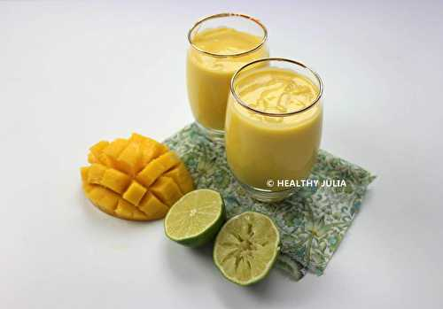 Healthy Julia: LASSI À LA MANGUE #VEGAN