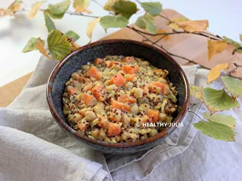 Healthy Julia: ONE-PAN DHAL AUX PATATES DOUCES #VEGAN