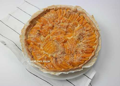Healthy Julia: QUICHE À LA COURGE BUTTERNUT #VEGAN