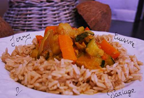 ?Curry de patates douces (lait de coco)