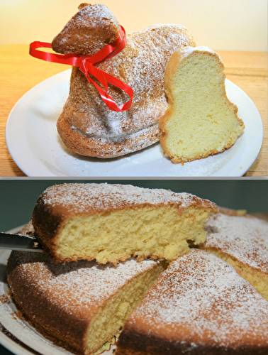 Soft and light cake without butter