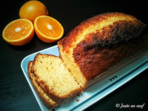 Gâteau au jus d'orange