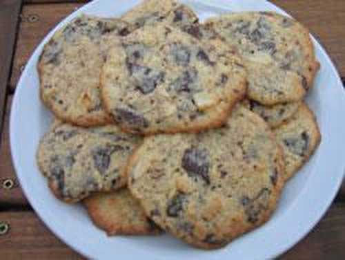 Cookies chocolat coco - La table de Vio