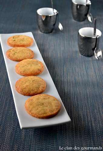 Biscuits au parmesan - Le clan des gourmands
