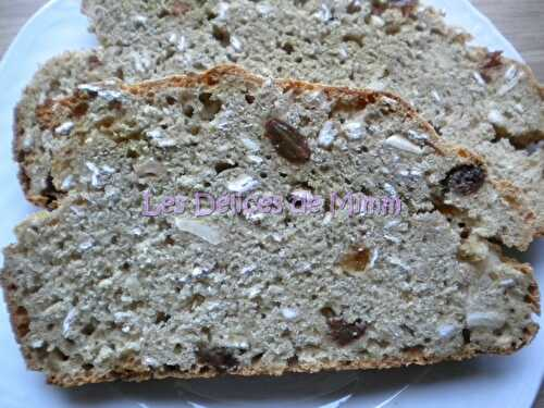 Irish soda bread au muesli - Les Délices de Mimm