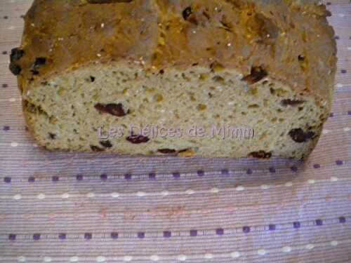 Irish soda bread aux cranberries (canneberges) - Les Délices de Mimm