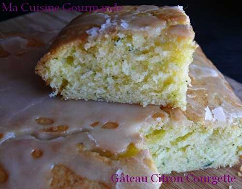 Cake Citron Courgette