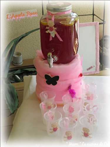 """ Miam "" L'apple rose {  ~  Baby Shower  ~  } -  ""MIAM"" La cuisine de Cath"