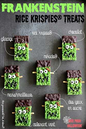 FRANKENSTEIN RICE KRISPIES® TREATS