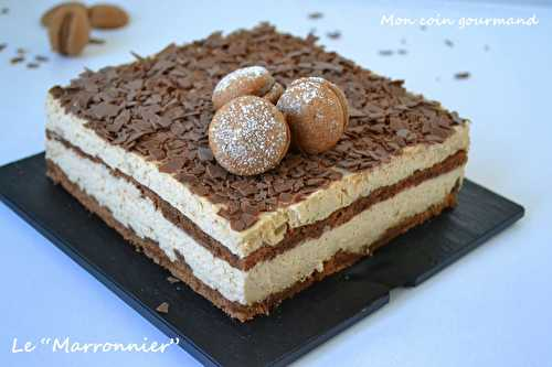 Marronnier - Mon coin gourmand