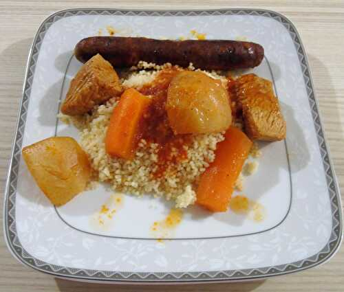 Couscous au Cookéo