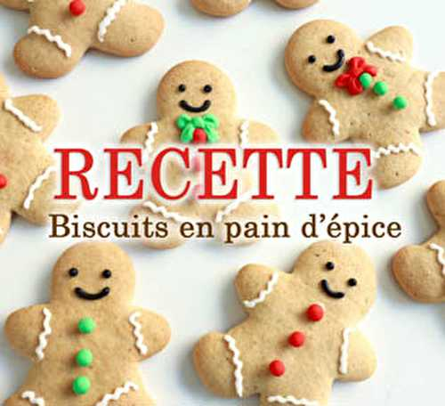 Blog Planete GateauBiscuits de Noël en pain d'épices - Blog Planete Gateau