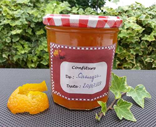 Confiture d'oranges au thermomix - Plein le tablier