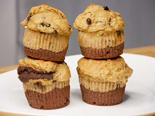 Muffins Healthy Bicolores