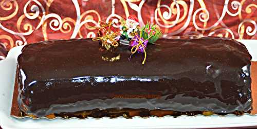 Bûche chocolat-passion de Pierre Hermé - Shukar Cooking