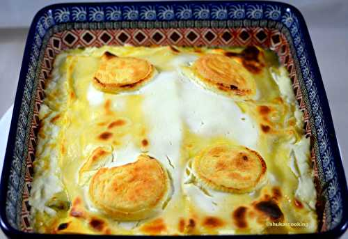 Lasagne totalement fromages - Shukar Cooking