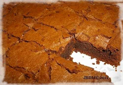 Brownie simplement Chocolat