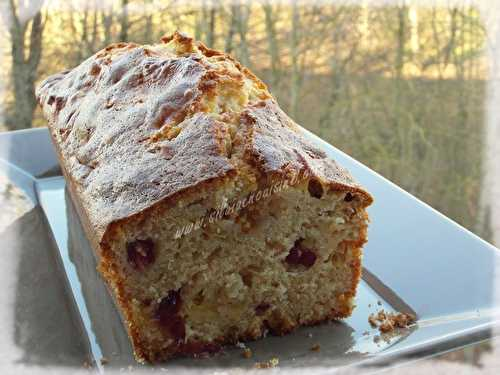 Cake Pommes & Cranberries