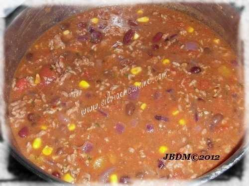 Chili con Carne Variation 2 (Texas, Etats-Unis)