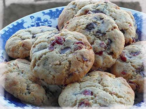 Cookies Chocolat & Cranberries