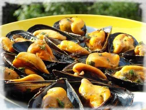 Moules au Piment & Tequila (Mexique)