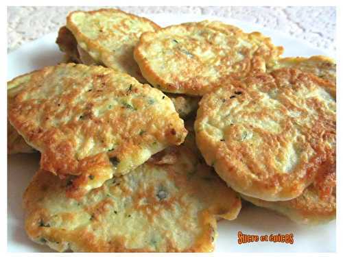 Blinis de courgettes - sucreetepices.over-blog.com