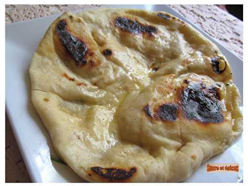 Naans indiens au fromage - Cheese naans - sucreetepices.over-blog.com