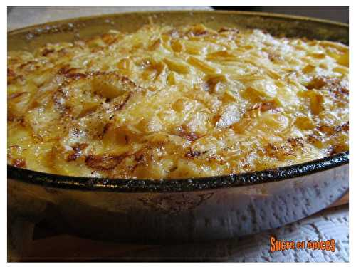 Tartiflette - sucreetepices.over-blog.com